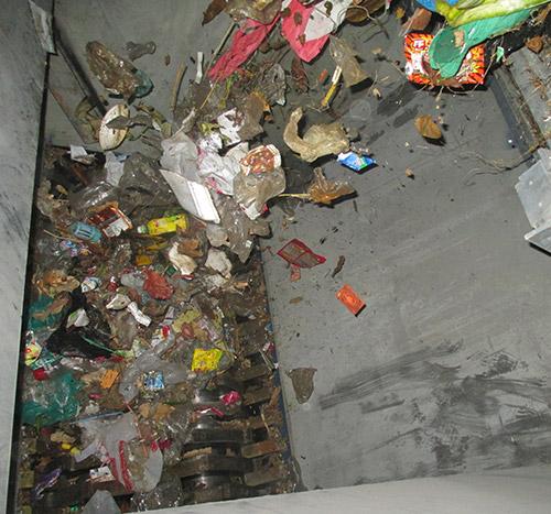 智能生活垃圾破碎机生产线,城市生活
