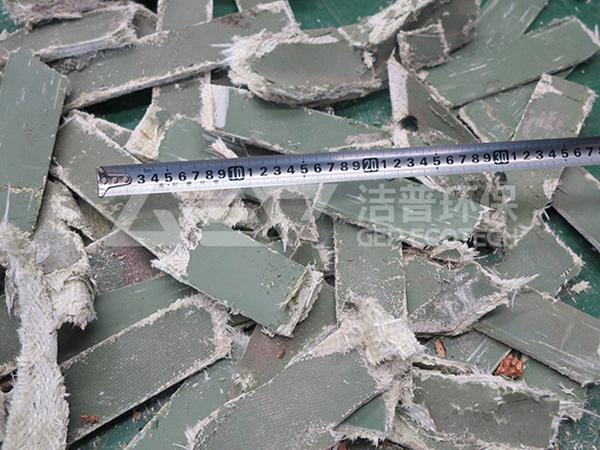玻璃钢粉碎之后
