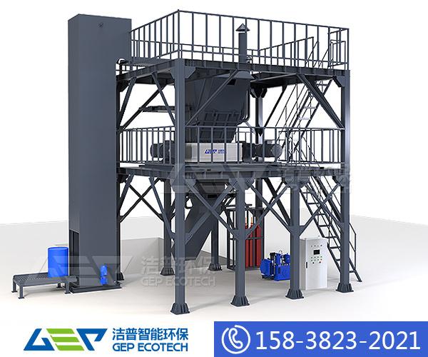 大型工业废料粉碎机,大型工业垃圾处理设备厂家