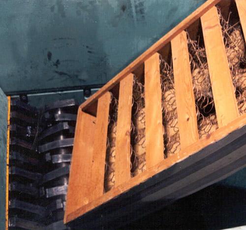 智能大件垃圾破碎机生产线,大件垃圾(旧家具)破碎处理流程