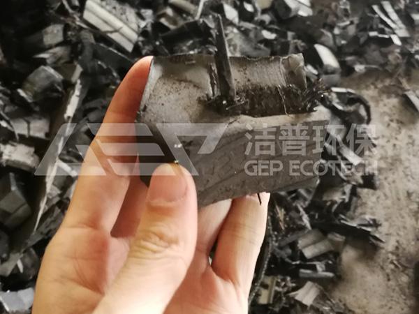 废旧轮胎破碎处理设备生产线多少钱一套?