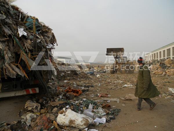 城市生活垃圾如何处理?选对垃圾破碎处理设备厂家是关键