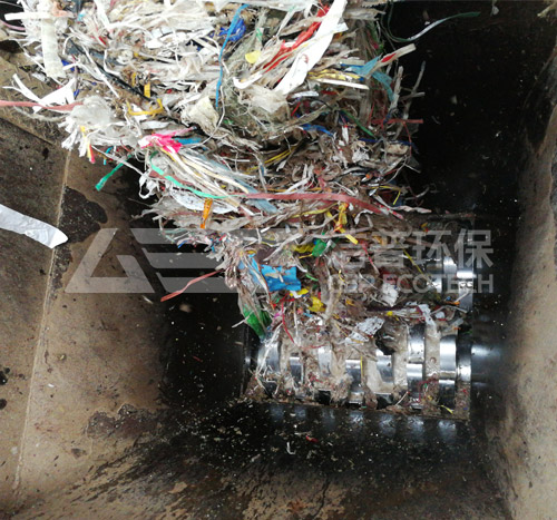 纸厂绞绳垃圾破碎机_纸厂废料粉碎机