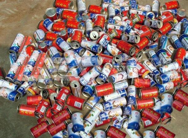 易拉罐破碎机多少钱一台