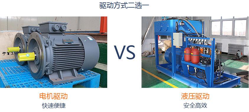 洁普环保电机与液压方案选型定制